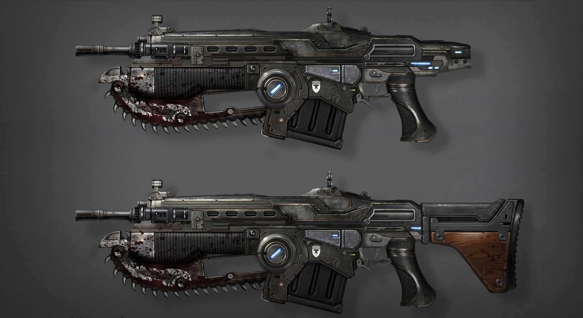 Concept Art Gears Of War